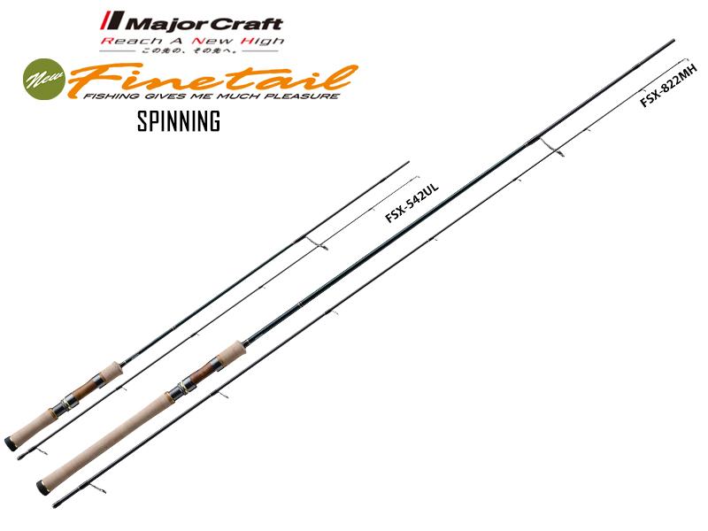 Major Craft New Finetail Spinning FSX-562L (Length: 1.71mt