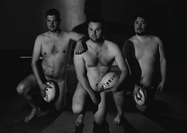 Naked Rugby Players Calendar 2020