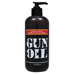 Gun Oil Silicone Transparent 16oz