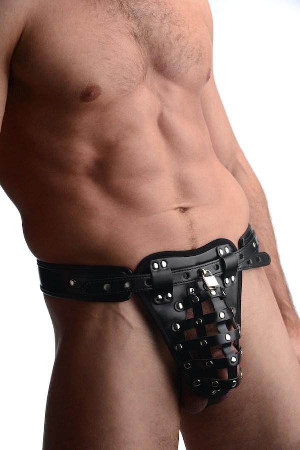 Safety Net Male Chastity Belt