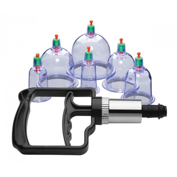 6 Piece Cupping Set