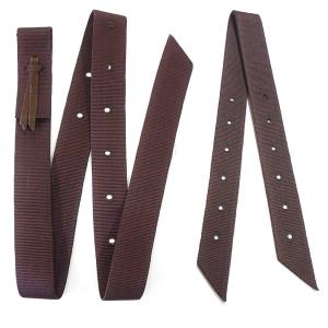 brown-nylon-leather-cinch-tie-strap-value-set-hill-saddlery