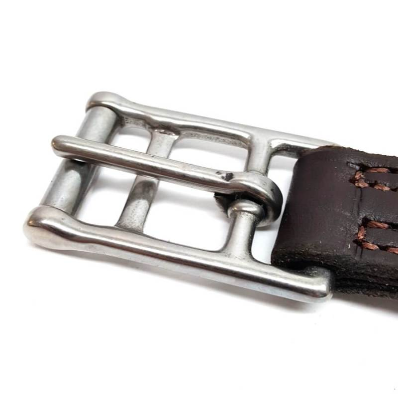 triple ply premium english saddle replacement leathers with buckle hill saddlery set