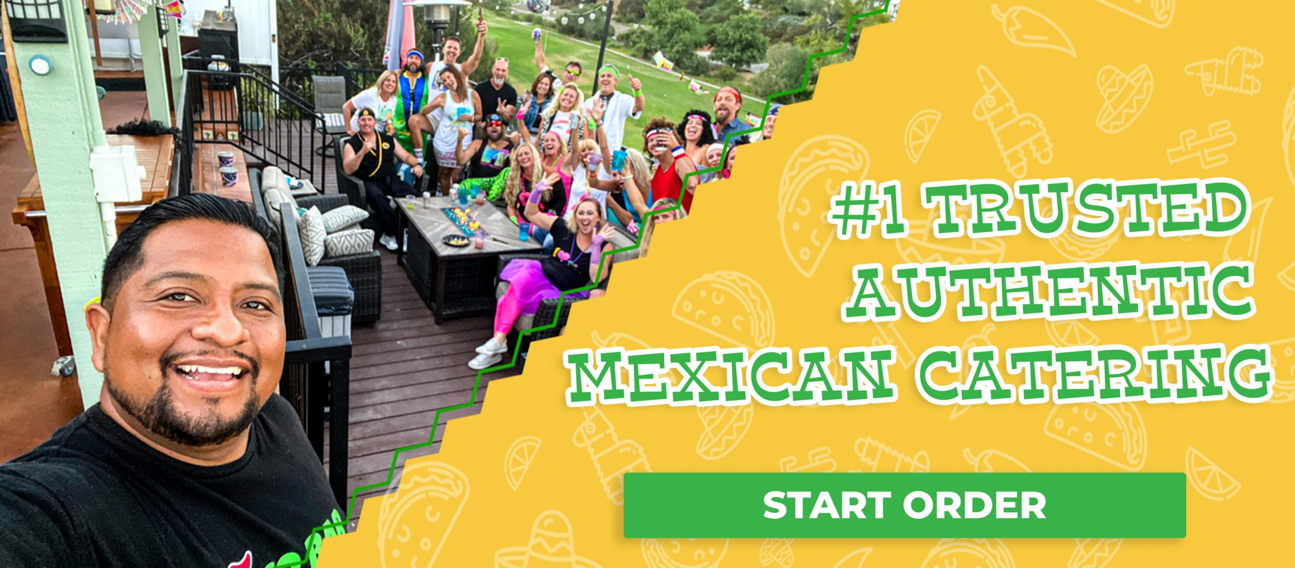 #1 Trusted Authentic Mexican Catering