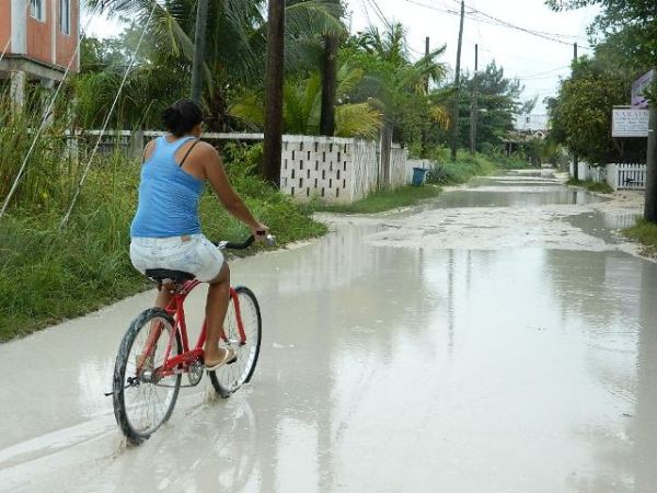 rainy season in belize
