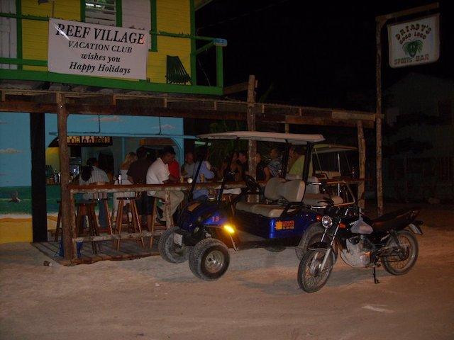 Reef Village bar