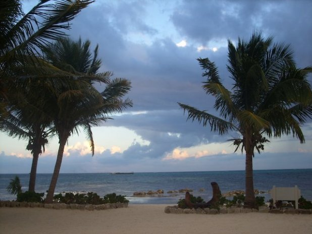 View from Ambergris Caye