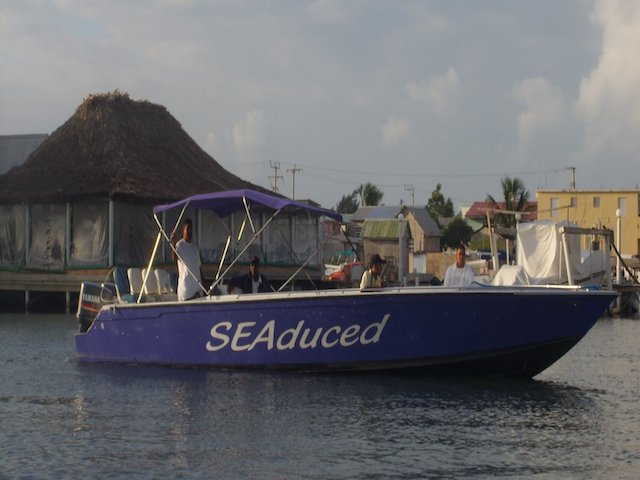 Seaduced boat