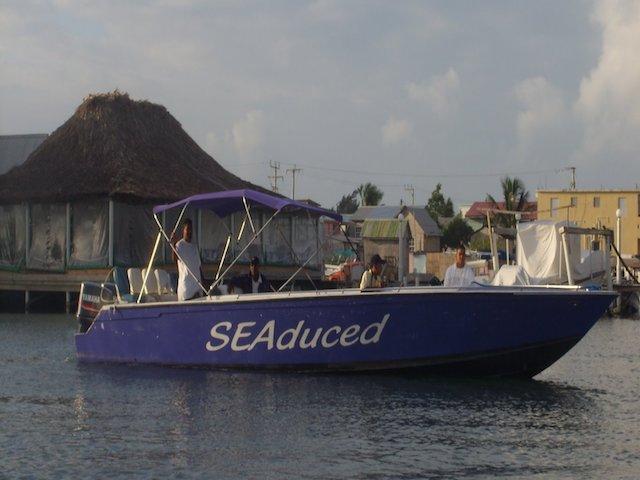 Seaduced boat