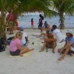 beach bbq ambergris caye
