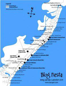 Blog Fiesta Official map