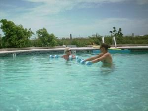 Aquafit class San Pedro Belize