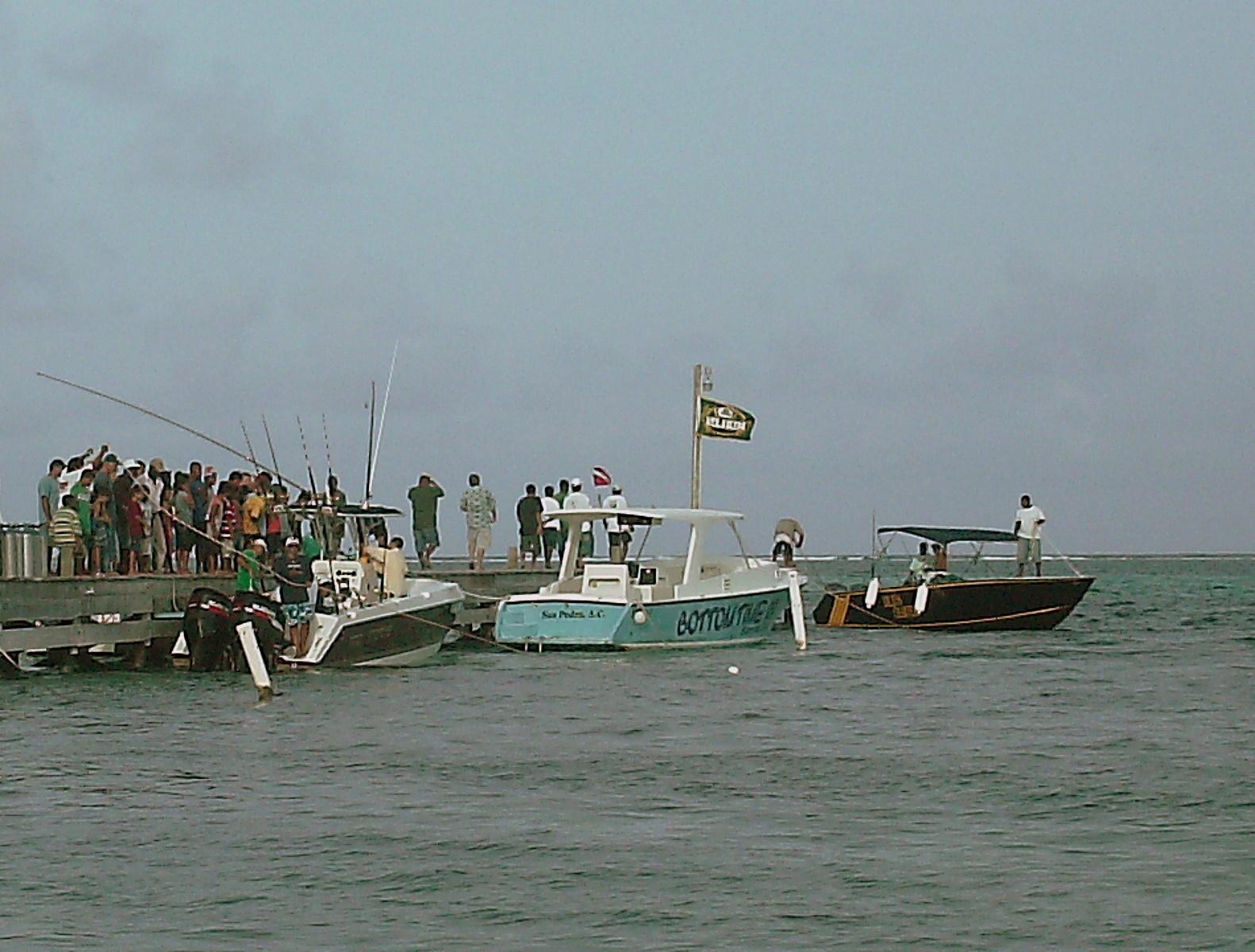 Dia de san pedro fishing tournament 2009 the original for Fishing san pedro belize