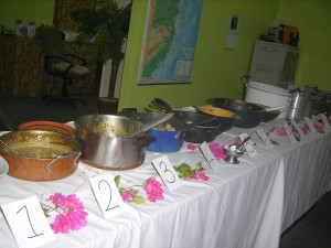 Lime Bar curry cook off