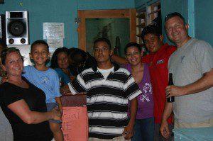 Juan Pablo Flores and Family at Waragumas