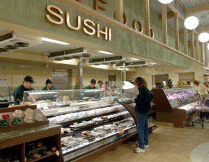 Bristol Farms Sushi dept