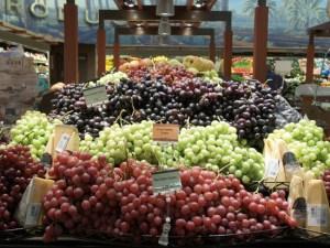 Bristol Farms grapes