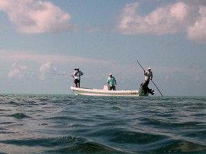 Boat from Tres Pescado Slam Fly Fishing Tournament