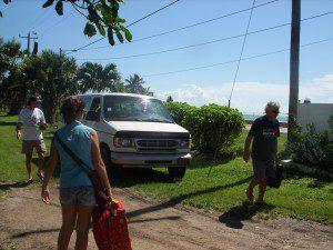 Pedro's van