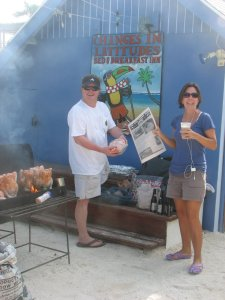 Where Did You Read Your SanPedro Sun? Courtesy of Changes in Latitudes