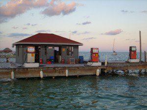 Boat Gast Station San Pedro Belize image