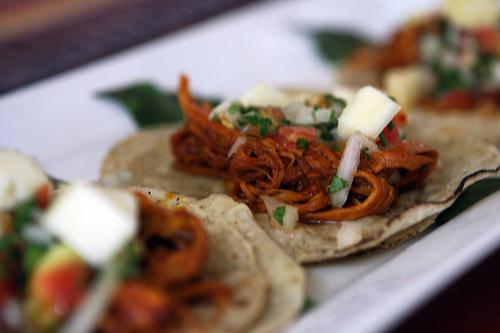 Cochinita pibil tacos at Ka'ana
