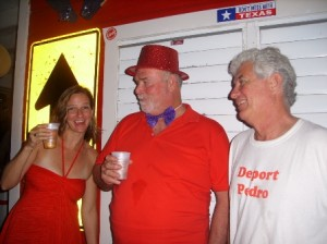 Laurie, Big Mike and Pedro