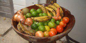 Vegetable & fruit bowl