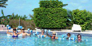 Aquafit class