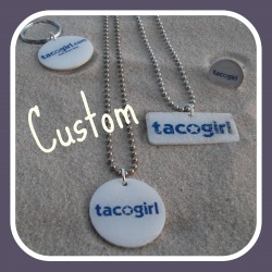 Custom tacogirl bling by Sofa City Sweethearts