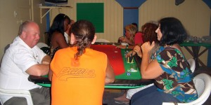 Poker fundraiser at Pedro's Pizza for Daniel Martin Estell Guerrero