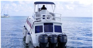 San Pedro Water Jets Express - San Pedro's first direct run to Chetumal Q.Roo Mexico