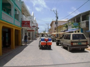 Downtown San Pedro Belize