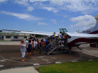 Tropic air Cessna Caravans Belize