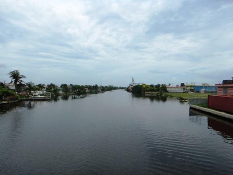 Belize river