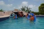 Aquafit class San Pedro Fitness Club Ambergris Caye