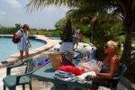 Saturday Morning Aquafit Class Ambergris Caye Belize