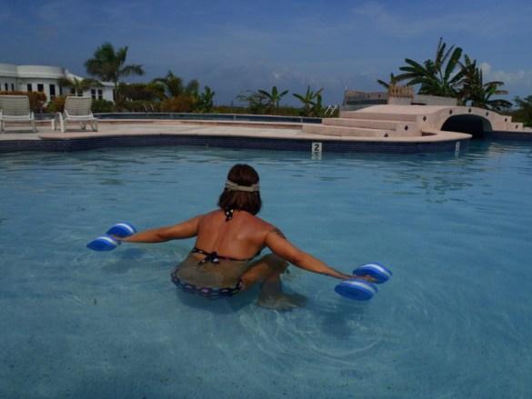 Public Pool Ambergris Caye