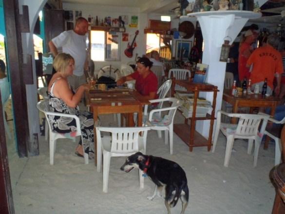 San Pedro Belize Backgammon Blitz tournament