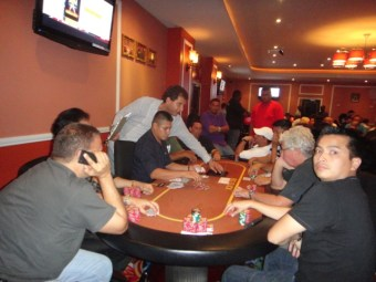 Belize poker player