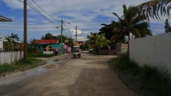 San Pedro Belize street