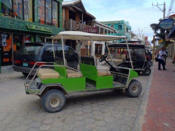 P4082495.jpg Green 6 seater golf cart