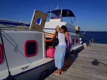 chetumal to san pedro water taxi