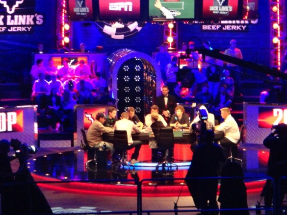 WSOP November Nine final table