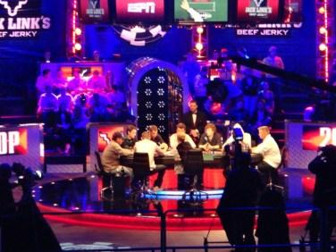 WSOP November Nine final table