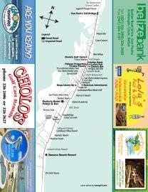 San Pedro Belize Map