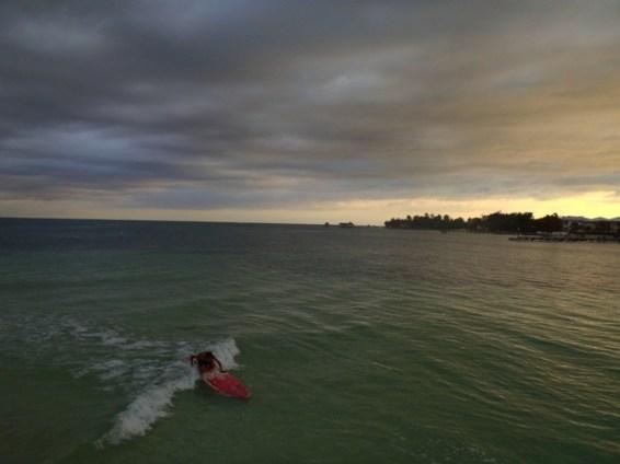 belize surfing