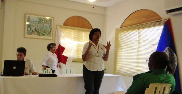 Joining Hands with Belize Red Cross