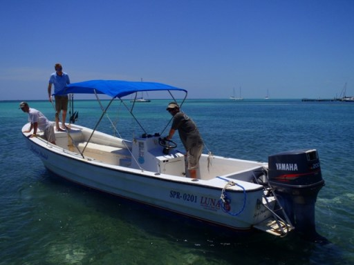 belize boat picture