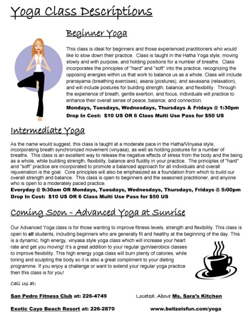 yoga retreat belize